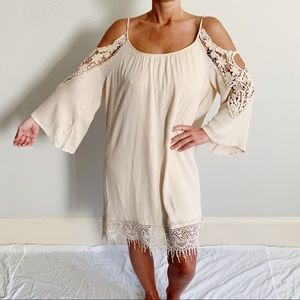NWT Francesca's Collections Crochet Dress A42